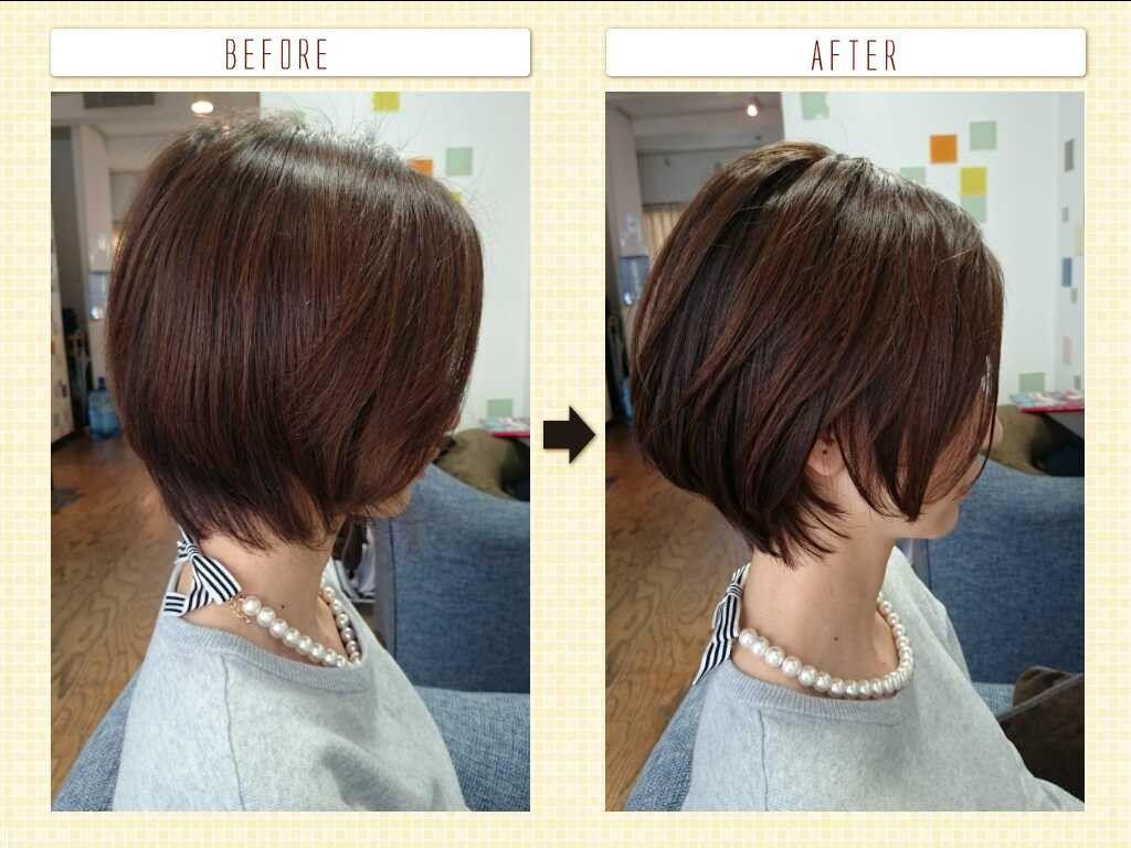 美容師解説 前上がりボブ ショート 髪型をオーダーする前に注意