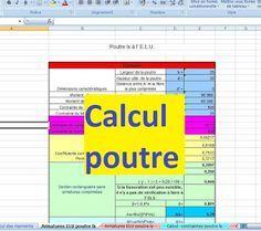 Calcul Poutre Supportant Une Dalle Pleine Excel Poutre Calcul Poutre Beton