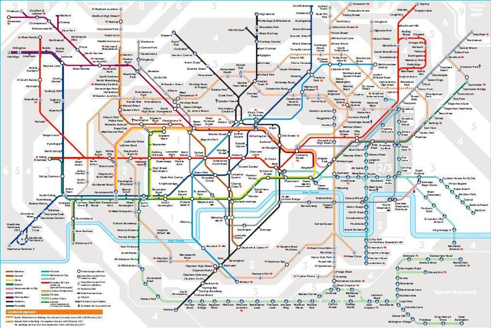 Transportul In Londra In 5 Pasi Simpli London Tube Map London