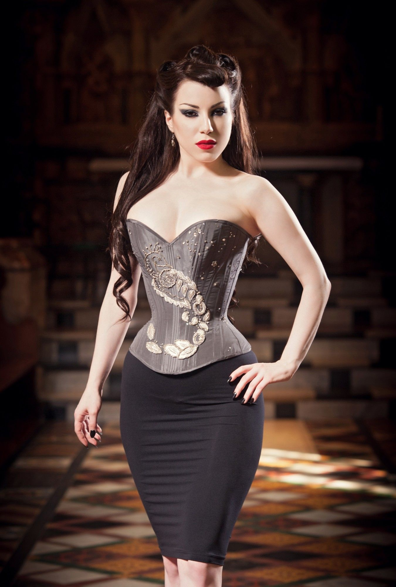 b541ab9ce25 Classic Conical Overbust Corsets