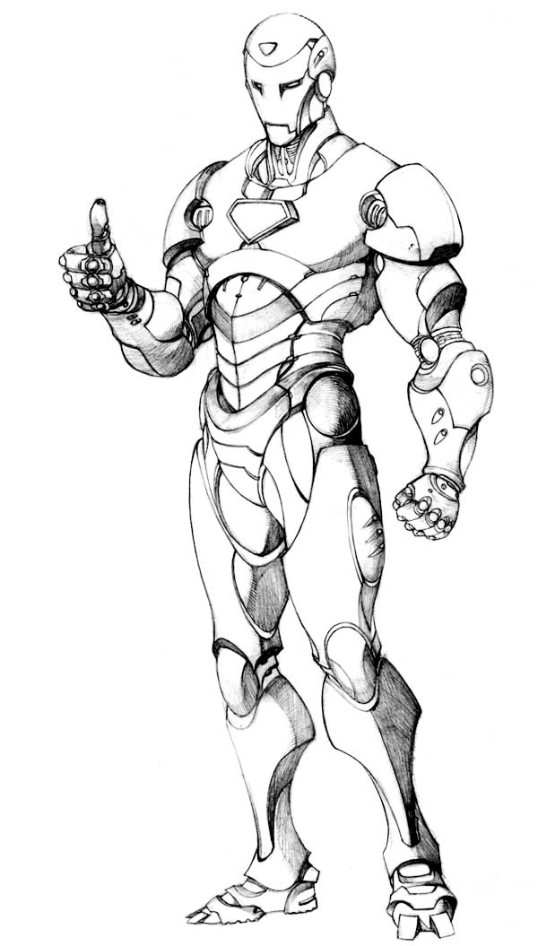 Picture Of Iron Man Coloring Page Netart Cartoon Coloring Pages Marvel Coloring Cool Coloring Pages