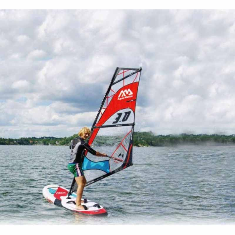 Surf Board 10ft Surfing Stand Up Paddle Board Inflatable Sup Surfboard Sup Windsurf With Sail Board Whole Set Standup Paddle Paddle Boarding Windsurfing Boards