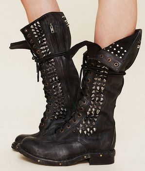 1000  images about Combat Boots on Pinterest | Rocker look, Boots ...