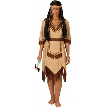 Femmes Indien Ouest Sauvage Fête Costume Amérindien Déguisement Pocahontas