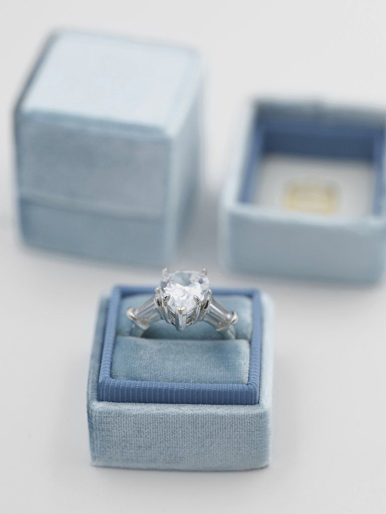 The Cardiff Classic Petite Wedding Ring Box Bridal Accessories Engagement