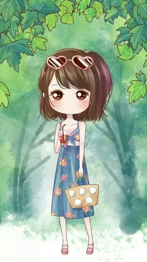 Little Wei Art Girl Baby Baby Doll Baby Girl Background Beautiful