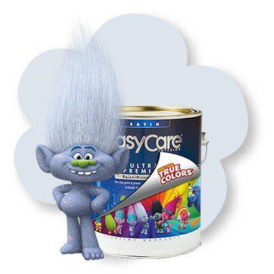 EasyCare Trolls Paint / Primer In One, Guy Diamond Forever, Satin Latex, 1-Gal.: Model# TPGDFOR-GL | True Value