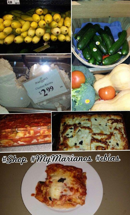 Vegetable Lasagna a la #MyMarianos