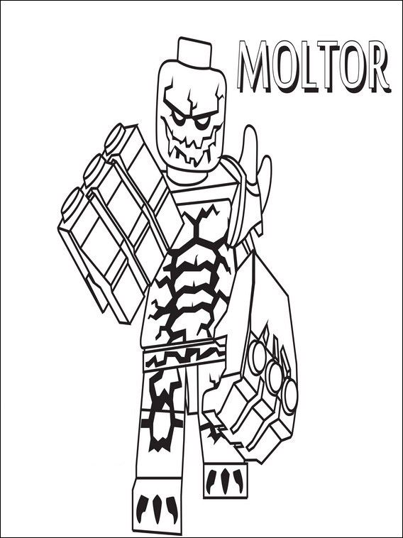 Lego Nexo Knights Coloring Pages 14 | Coloring & Drawing | Pinterest ...
