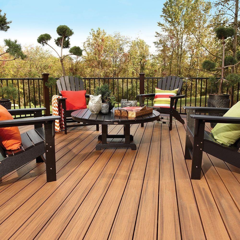 Trex Transcend Tropics Tiki Torch Grooved 16 Patio Outdoor Deck Outdoor Deck Furniture