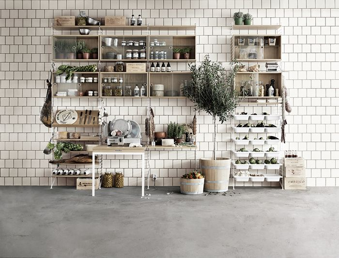Design String Kasten : Lotta agaton string kitchen inspiration kitchen