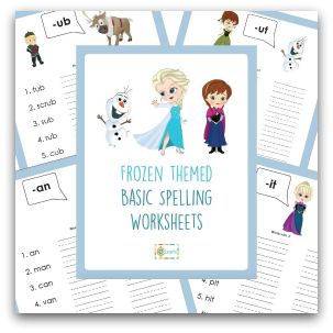 Free Frozen Printables from Educents