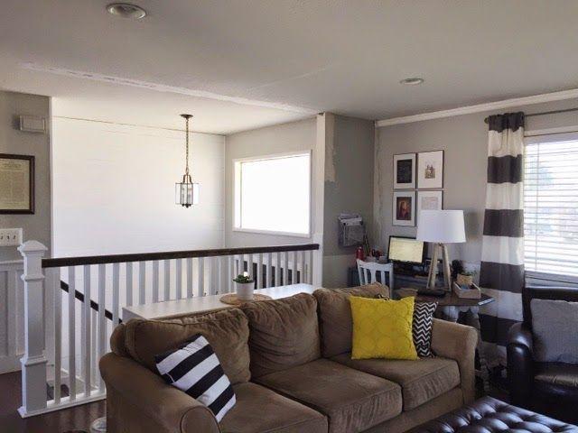 Our Split Level Fixer Upper Living Room Remodel Livingroom