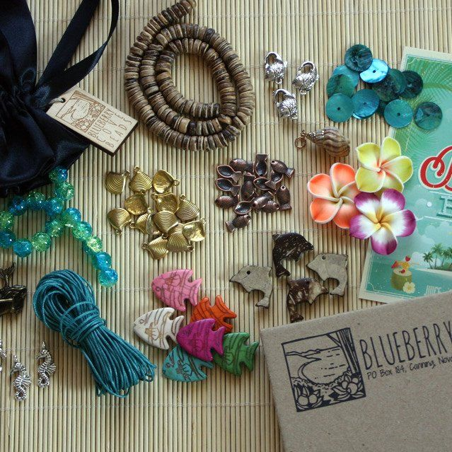 a monthly surprise box Jewelry subscription box, Bead
