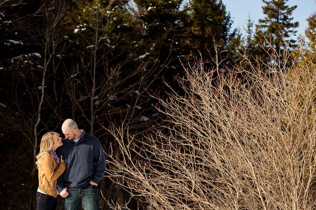 Kendra and Matt Engaged! | Saint John, NB Engagement Photographer