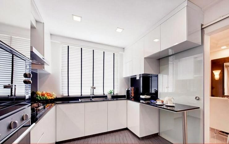 Condo Kitchen Design Inspiration Kitchen Design Layout Ushape  Viva Interior Design  Pinterest Review