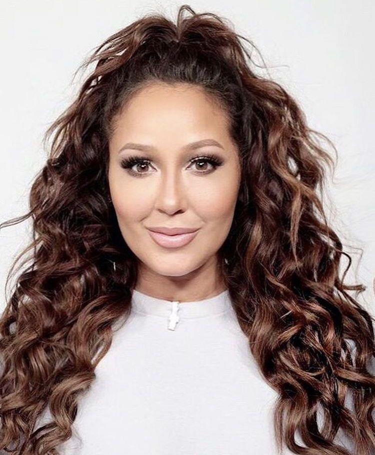Adrienne Bailon Birthday Hairstyles Curly Hair Styles Naturally Hair Color 2018