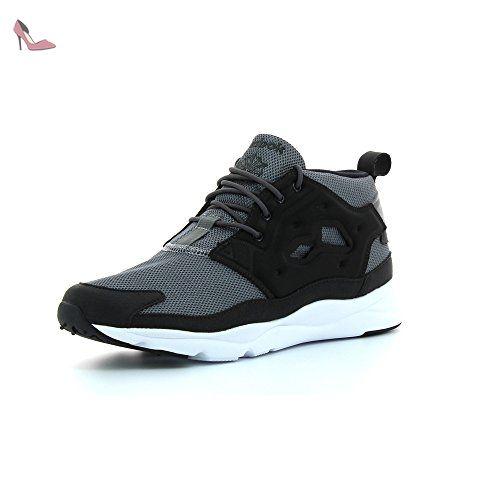 reebok hommes furylite chukka leather trainers