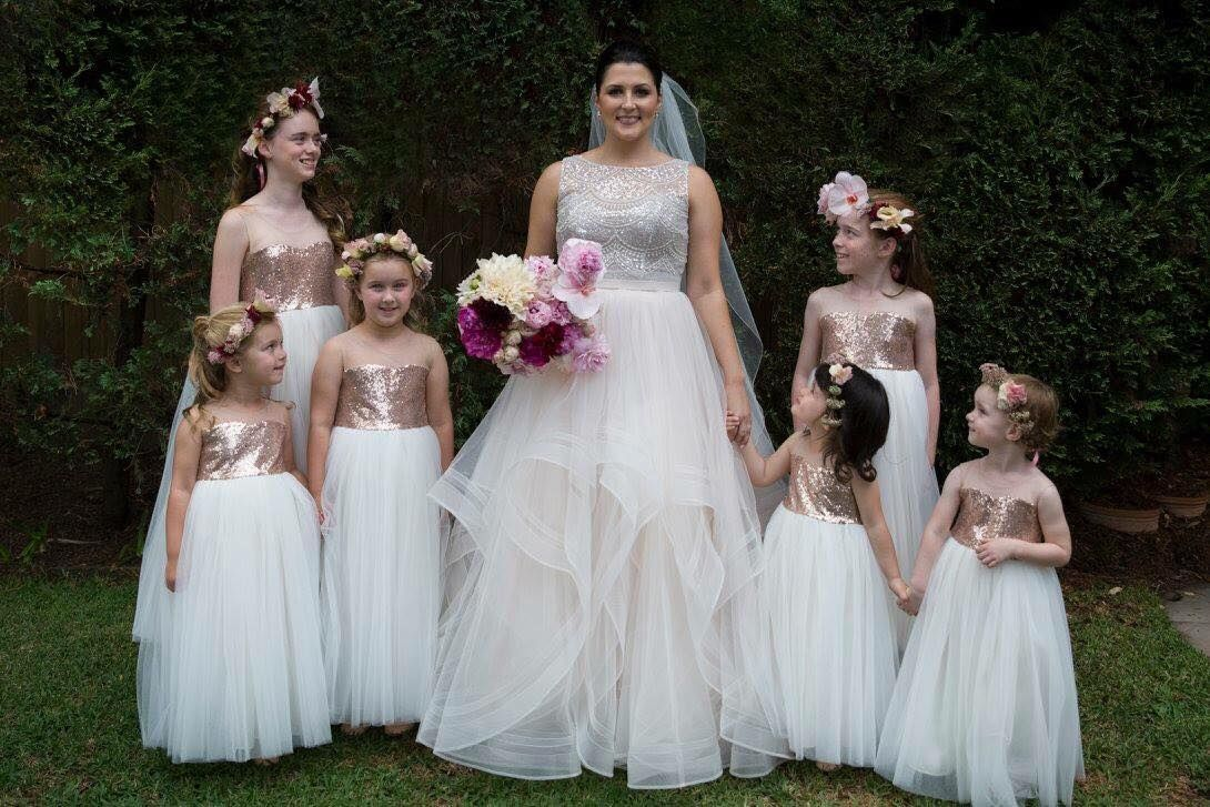 These flower girls will surely add the wow factor to your wedding