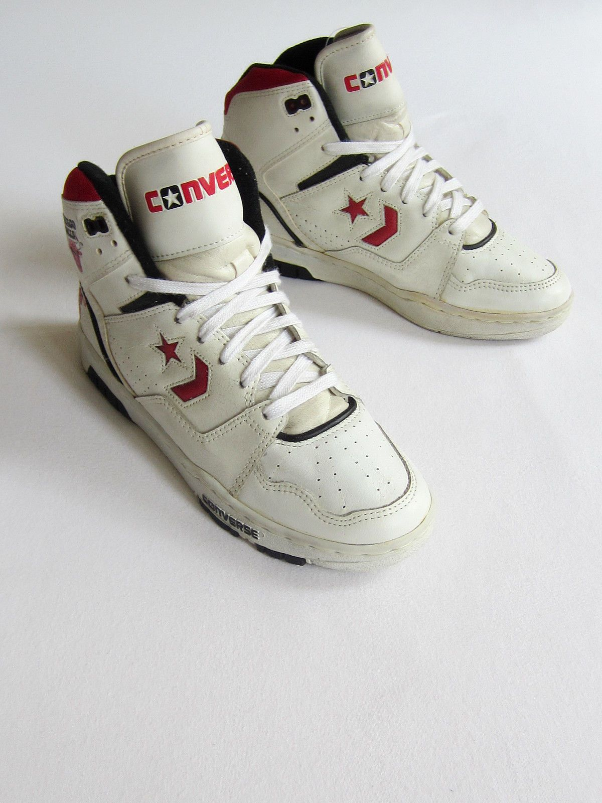 huge discount 58b7f 65a01 Converse Chicago Bulls Hi 1990 NBA New Tag Box OG Vintage Deadstock Cons  Jordan  eBay