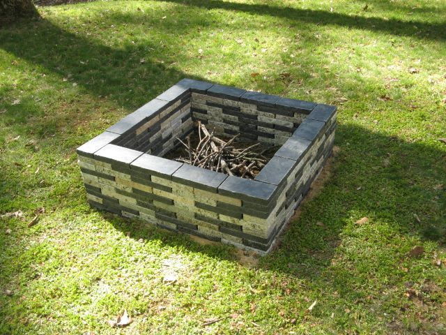 Pavers Stone Granite Recycle Hardscape Granite Fire Pit Fire Pit Outdoor Fire Pit Kits