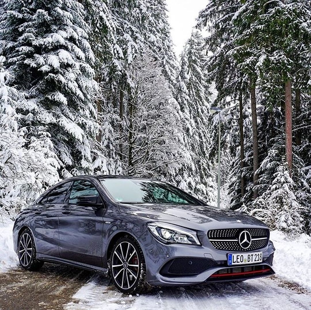 Mercedes Benz Cla 250 Sport 4matic Coupe The Perfect Snow Vehicle