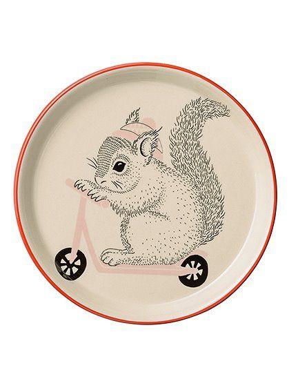 Bloomingville Kinderteller Nanna Eichhörnchen