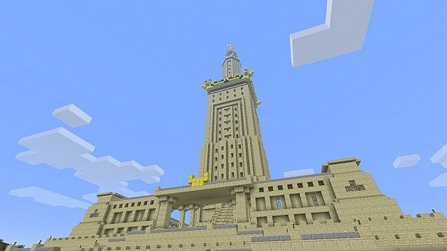 The pharos of alexandria minecraft project the seven wonders the pharos of alexandria minecraft project malvernweather Image collections