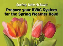 Hubbs Heating Air Spring Cleaning Preventive Maintenance Hvac Maintenance Spring