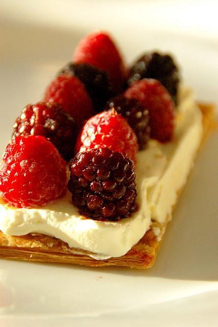 Berry Mille Feuille Sweet Recipe