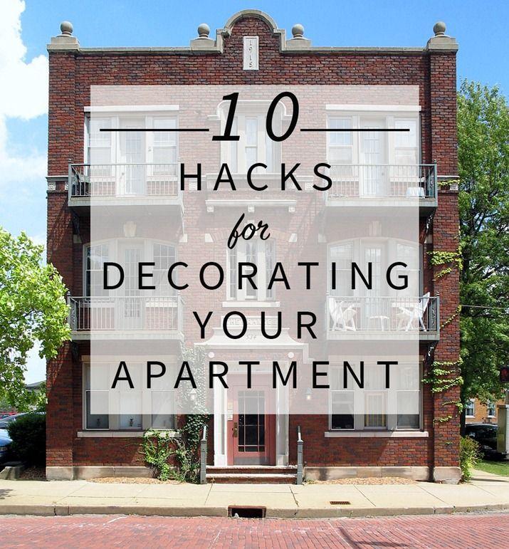 10 Hacks for Decorating Your Apartment | Rental decorating ...