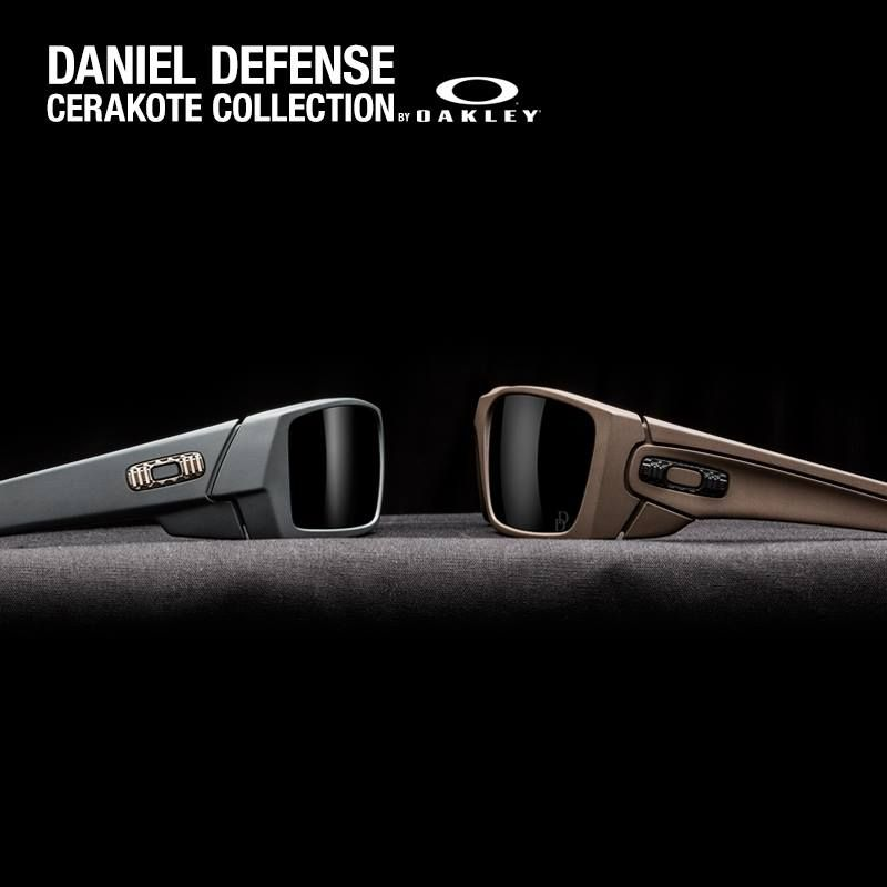 cerakote oakley gascan 3it3  Daniel Defense Cerakote Collection by Oakley