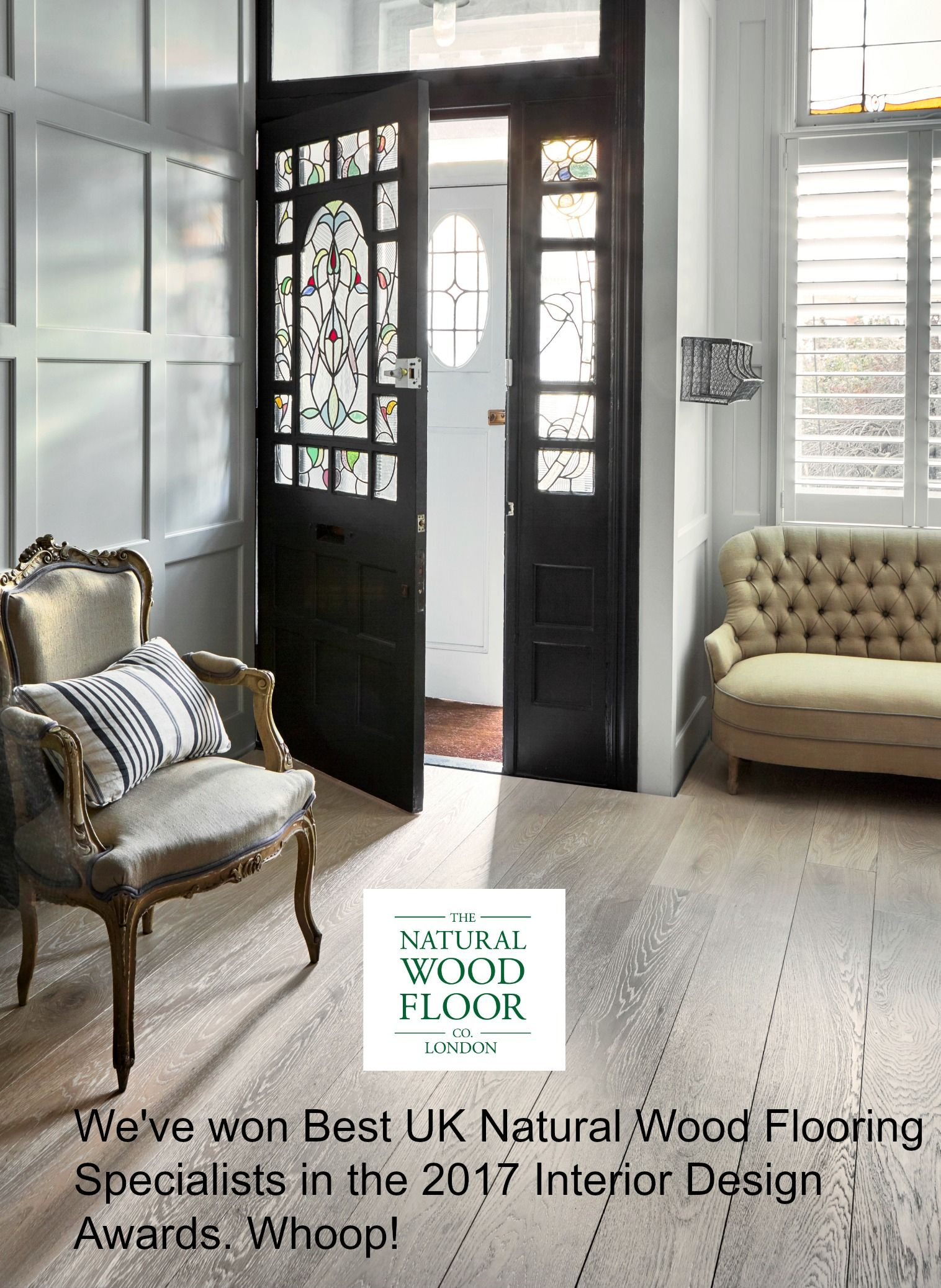 Winner of Best UK Natural Wood Flooring Specialists in the