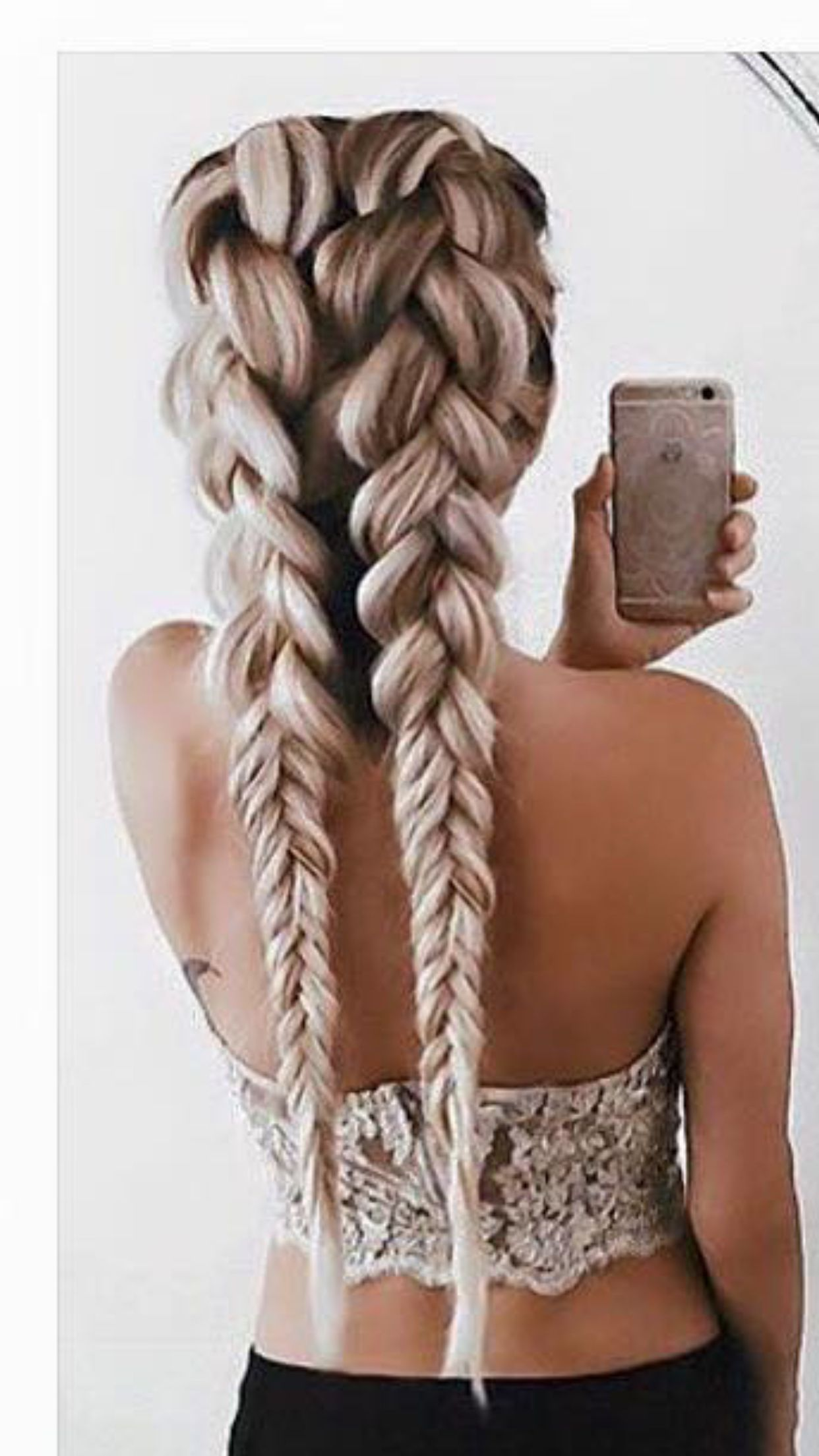 Trying this soon braids pinterest hair style hair goals and