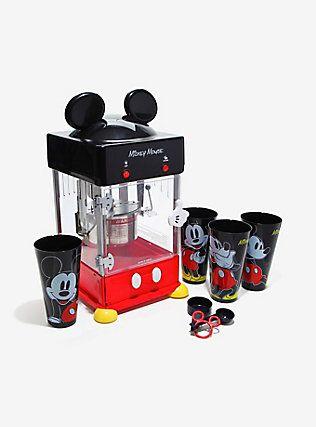 Disney Mickey Mouse Kettle Style Popcorn Popper Mickey Mouse Kitchen Mickey Classic Mickey Mouse