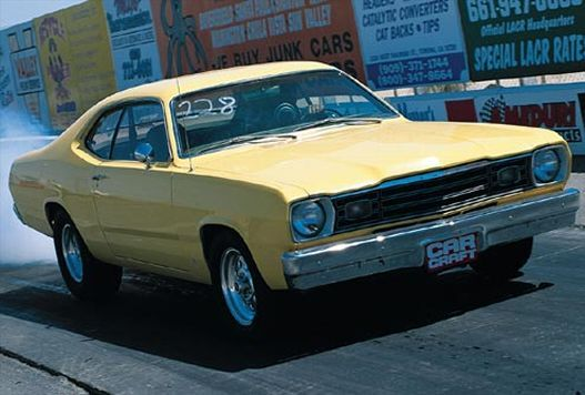 1973 Plymouth Duster #Yellow