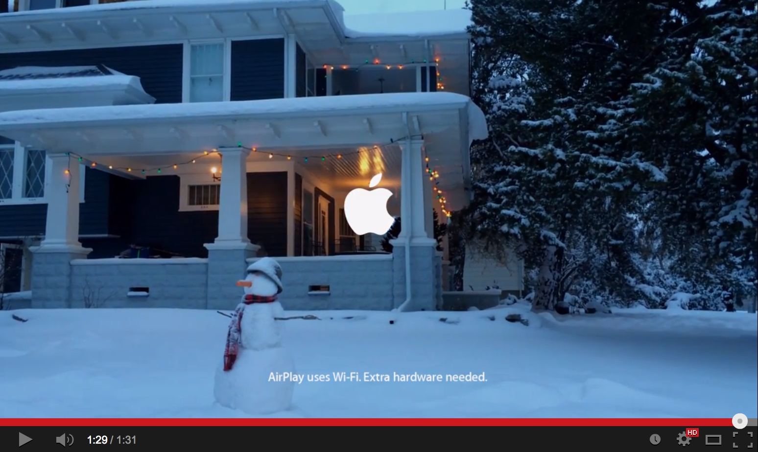 apples new holiday commercial its good to see that apple has gone back to
