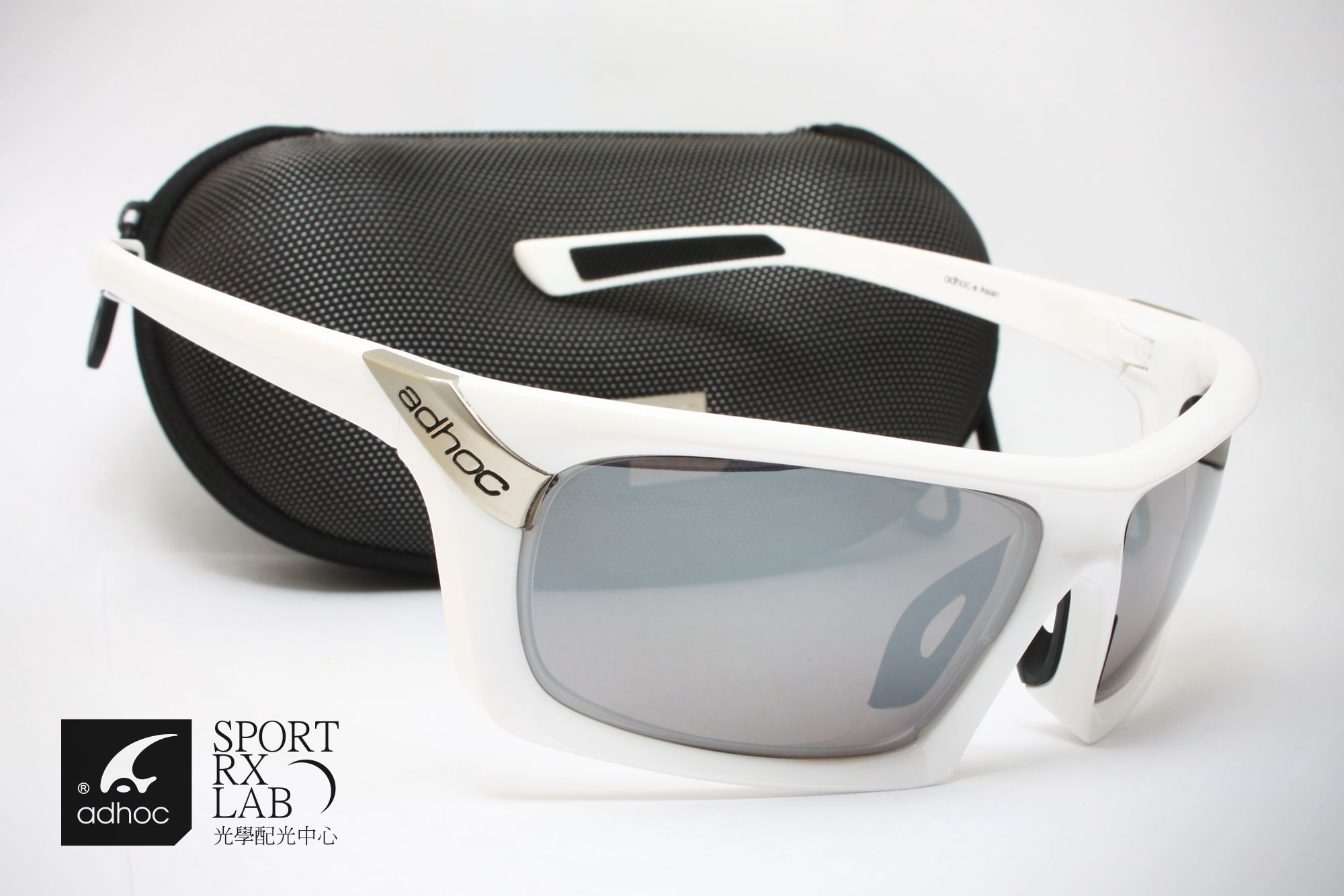 adhoc PARKER golf eyewear with adhoc RX optic lens Golf