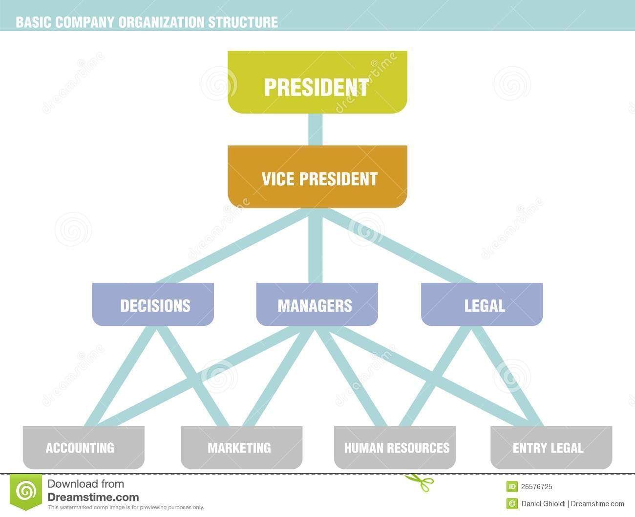 BasicCompanyOrganizationStructureChartJpg