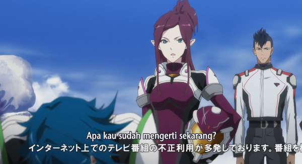 Macross Delta episode 3 sub indonesia Episode 3