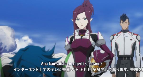 Macross Delta episode 3 sub indonesia Episode 3