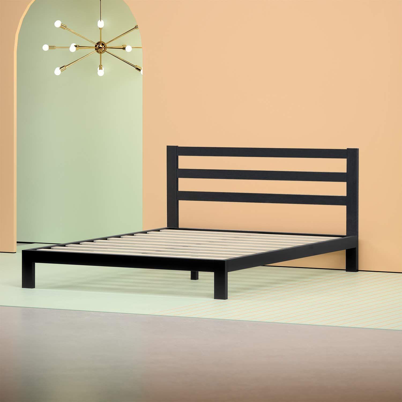Amazon Com Zinus Modern Studio Platform 2000h Metal Bed Frame