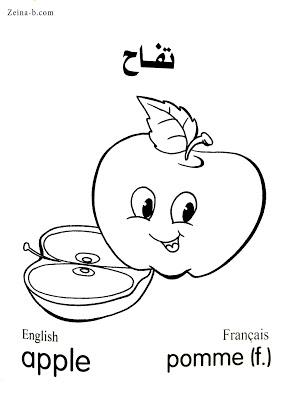 رسومات فاكهة تفاح Apple Pomme In 2021 Art Color Fictional Characters