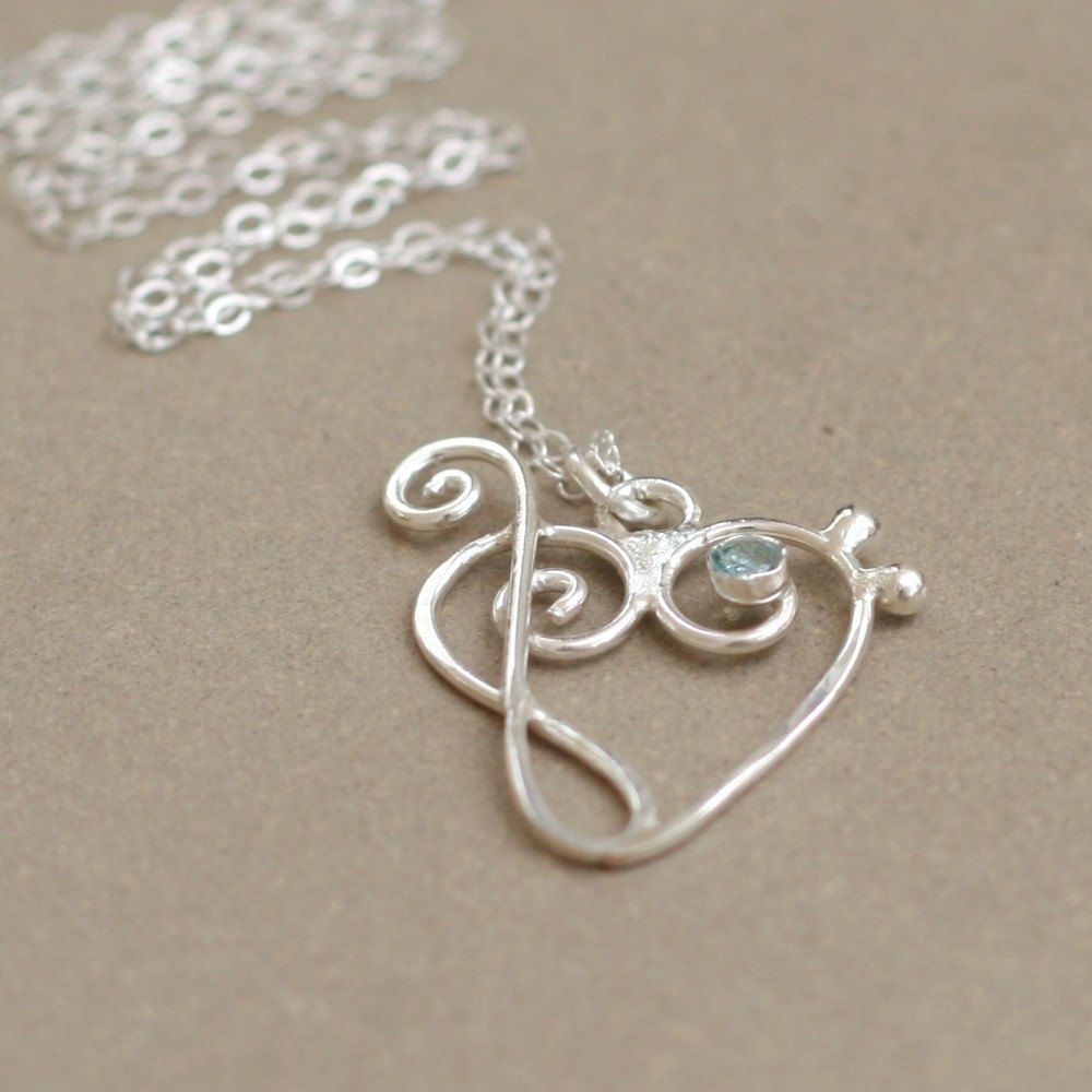 Music heart with birthstone treble clef and bass clef music music heart with birthstone treble clef and bass clef music jewelry sterling silver aloadofball Images