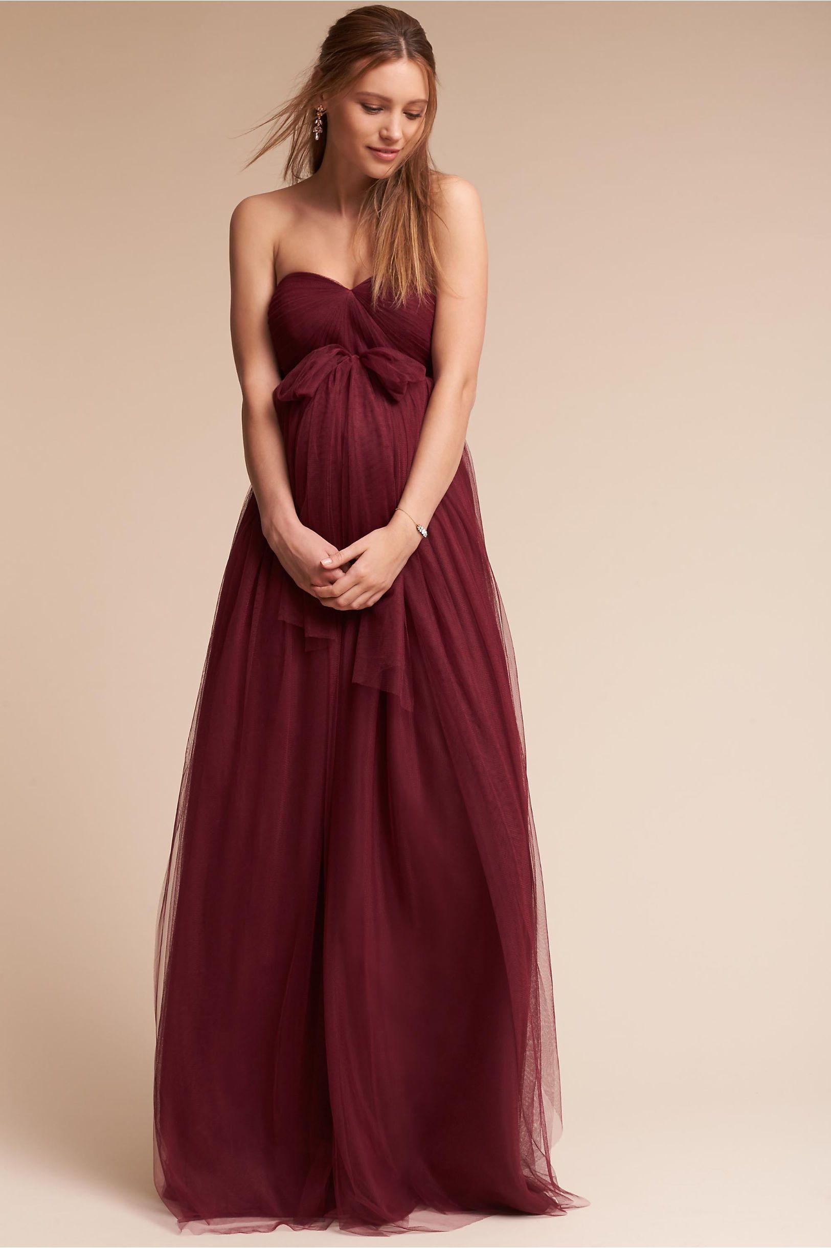 Bhldns jenny yoo serafina maternity dress in black cherry bhldns jenny yoo serafina maternity dress in black cherry ombrellifo Choice Image