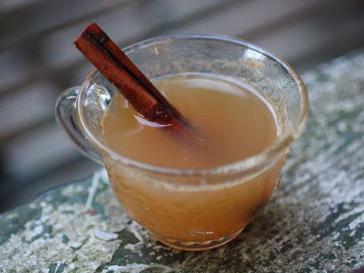 Hot Ginger Apple Cider With Applejack Recipe on Yummly