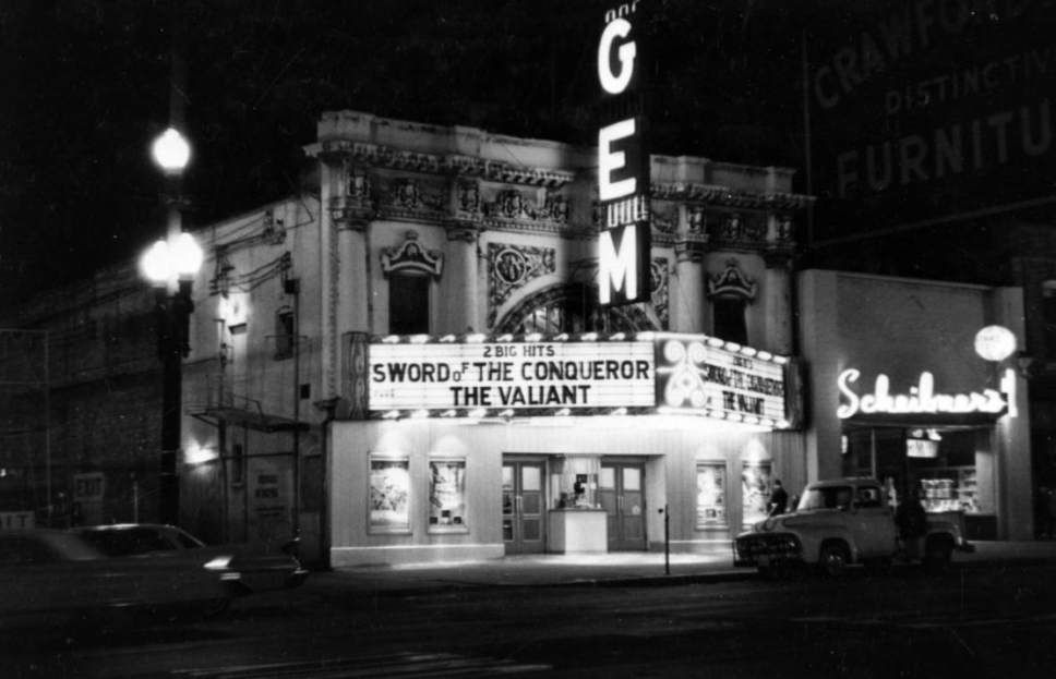 A look back salt lake citys old movie theaters old