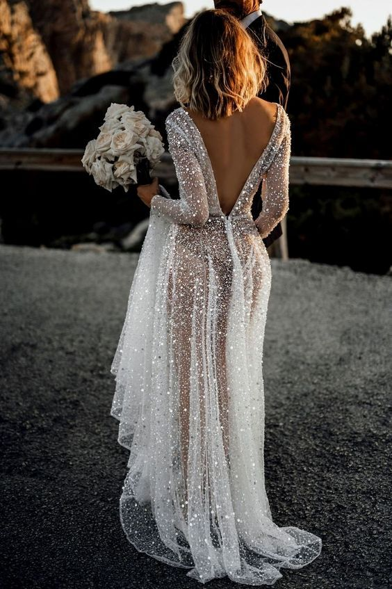 Pin On Backless Wedding Dress