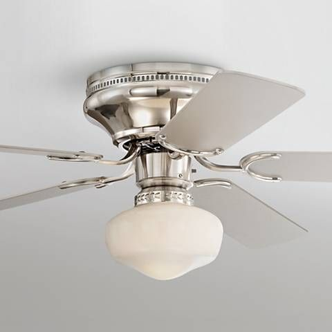 52 casa vieja hillhurst hugger ceiling fan ceiling fan ceiling silver finish blades and a brushed nickel finish motor give this hugger style ceiling fan a sleek polished look five silver finish blades mozeypictures Choice Image