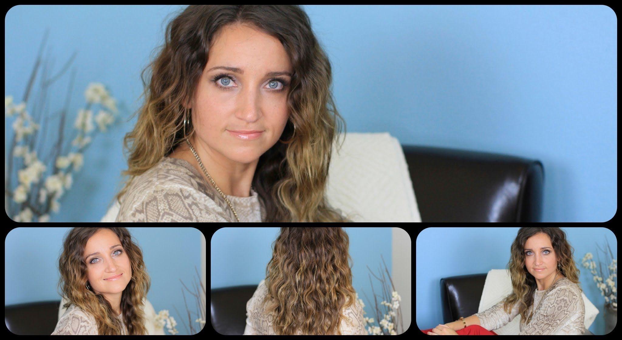 How to get deep waves cute girls hairstyles hair pinterest